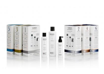 3-ступенчатые системы восстановления волос NIOXIN