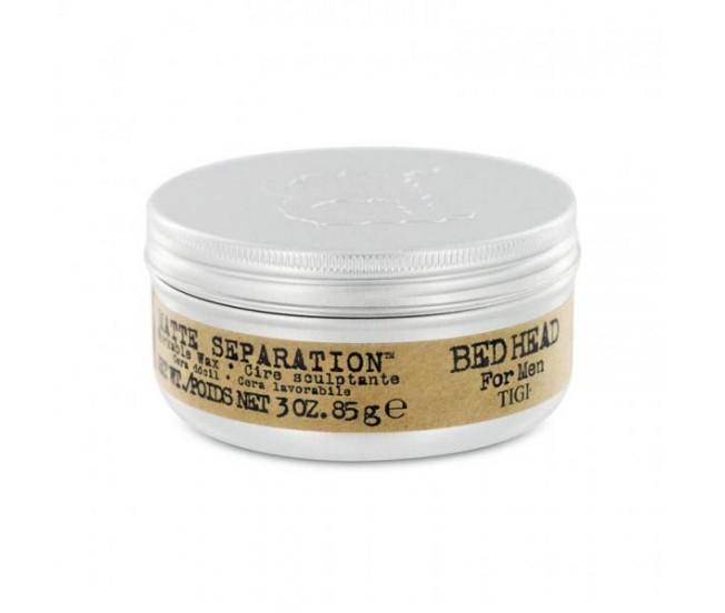 Воск для волос, 85гр/TIGI Bed Head B for Men Matte Separation Workable Wax