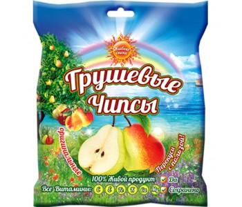 """Чипсы грушевые оригинальные """"Живые снеки"""", 25г"""