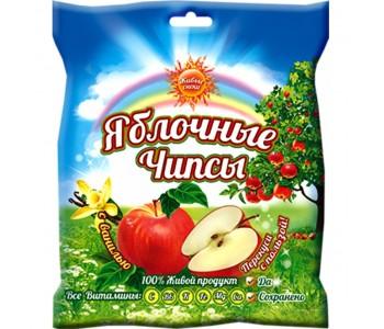 """Чипсы яблочные с ванилью """"Живые снеки"""", 25г"""