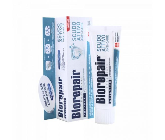 """Зубная паста """"Активная защита эмали зубов"""", 75мл/Biorepair Pro Scudo Active Shield"""