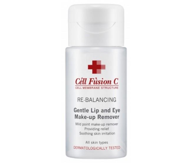 Очищение для контура глаз и губ, 150мл Cell Fusion C Gentle Lip & Eyes Make-up Remover