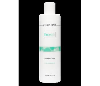 Очищающий тоник для жирной кожи с лемонграссом, 300 мл/Christina Fresh Purifying Toner for oily skin with Lemongrass
