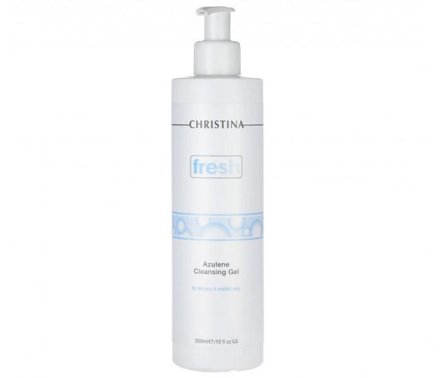 Гель азуленовый очищающий для чувствительной кожи, 300мл/Christina Fresh Azulene Cleansing Gel