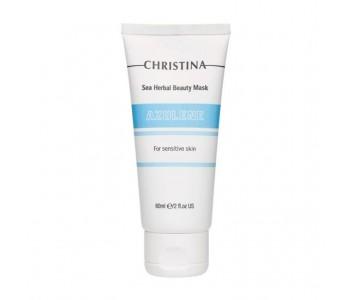 Маска красоты азуленовая для чувствительной кожи, 60 мл/Christina Sea Herbal Beauty Mask Azulene