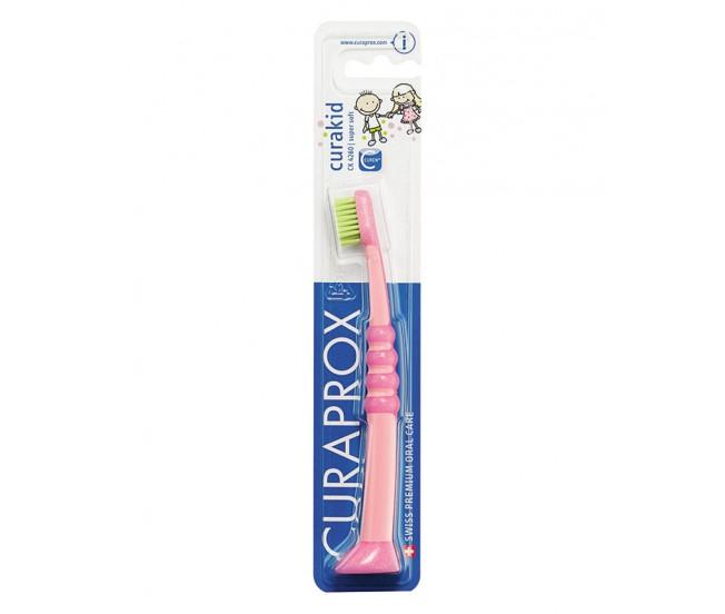 Зубная щетка детская Curaprox CK 4260 c гуммированной ручкой, 1шт