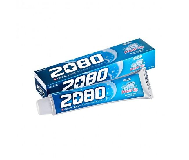 Зубная паста DC 2080 Освежающая, экстра мятный вкус, 120 г