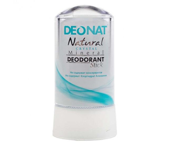 DeoNat, Кристалл-дезодорант целый Crystal, 60 гр