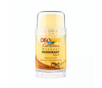 DeoNat, Кристалл-дезодорант с экстрактом куркумы, 80гр