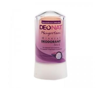 DeoNat, Кристалл-дезодорант с соком мангостина, 60гр