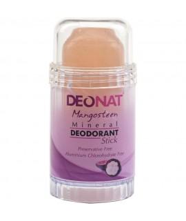DeoNat, Кристалл-дезодорант с соком мангостина, 80гр