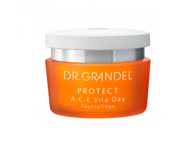 Крем дневной с витаминами А, С, Е, 50 мл/Dr.Grandel Protect A C E Vita Day