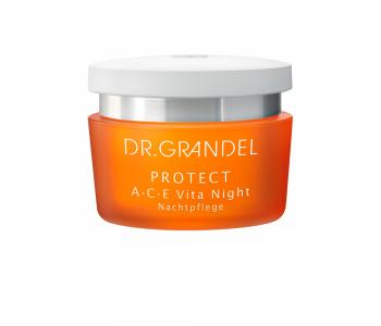 Крем ночной с витаминами А, С, Е, 50 мл/Dr.Grandel Protect A C E Vita Night