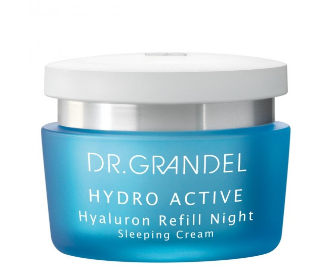 Крем ночной с гиалуроном, 50 мл/Dr.Grandel Hydro Active Hyaluron Refill Night
