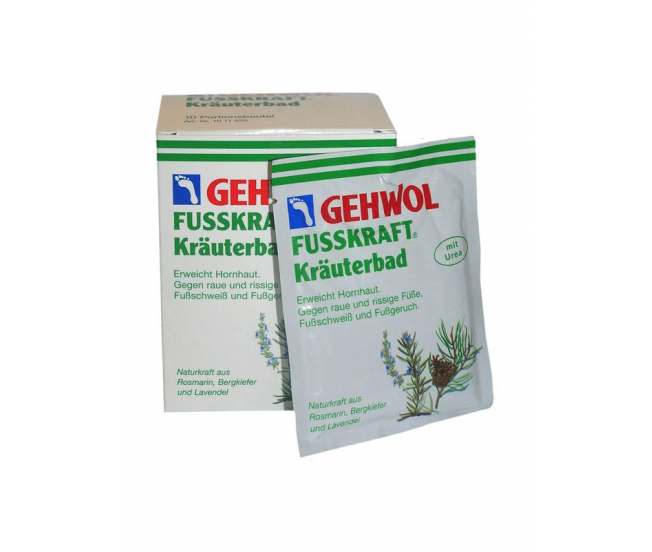 Травяная ванна, 10 пакетиков/Fusskraft Herbal Bath Gehwol