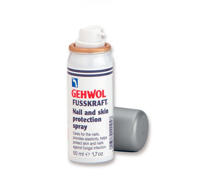 Защитный спрей для ногтей и кожи Фусскрафт, 50 мл/Gehwol Fusskraft Nail and Skin Protection Spray