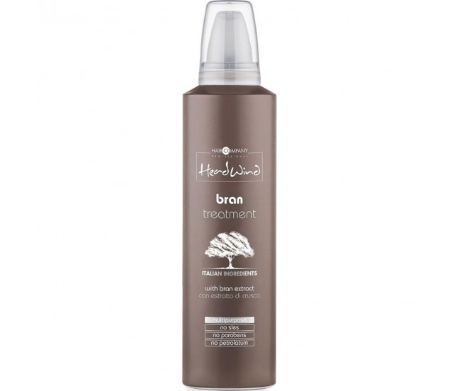 Мусс рисовый для волос, 250 мл/Hair Company Head Wind Bran Treatment