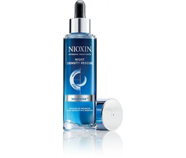Ночная сыворотка для увеличения густоты волос, 70мл/Nioxin Night Density Rescue