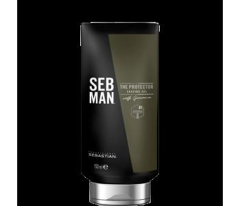 Крем для бритья для всех типов бороды, 150мл/Seb Man THE PROTECTOR