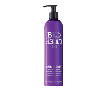 Шампунь-корректор цвета, 400мл/TIGI Bed Head Dumb Blonde Voilet Toning Shampoo