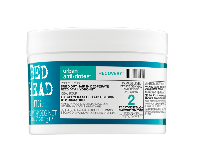 Маска для поврежденных волос уровень 2, 200мл/TIGI Bed Head Urban Antidotes Recovery Treatment Mask