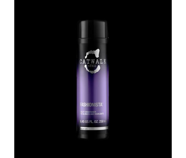 Кондиционер для коррекции цвета осветленных волос, 250мл/TIGI Catwalk Fashionista Voilet Conditioner