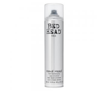 Лак для суперсильной фиксации, 385мл/TIGI Bed Head Hard Head