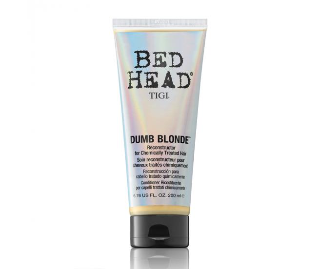 Кондиционер-маска для блондинок, 200мл/TIGI Bed Head Colour Dumb Blonde Reconstructor