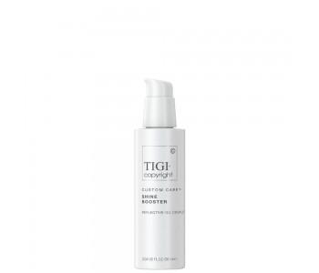 Крем-бустер для волос, усиливающий блеск, 90мл/Tigi Copyright Custom Care Shine Booster