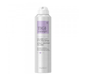 Спрей-мусс для придания объема волосам, 240мл/Tigi Copyright Volume Lift Spray Mousse