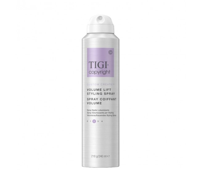 Спрей-мусс для придания объема волосам, 240мл/Tigi Copyright Volume Lift Spray Mousse