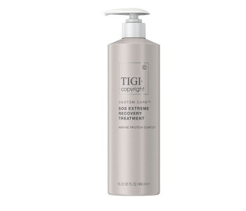 Сыворотка для экстремально поврежденных волос, 450мл/Tigi Copyright Custom Care SOS Extreme Recovery Treatment