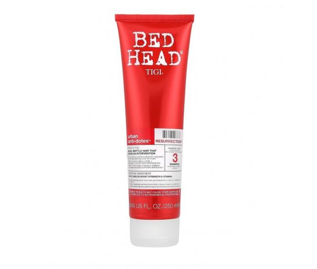 Шампунь для сильно поврежденных волос уровень 3, 250мл/TIGI Bed Head Urban Anti+dotes Resurrection