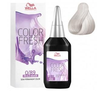 Оттеночная краска 0/89 жемчужный сандрэ, 75 мл/Wella Professional Color Fresh Acid