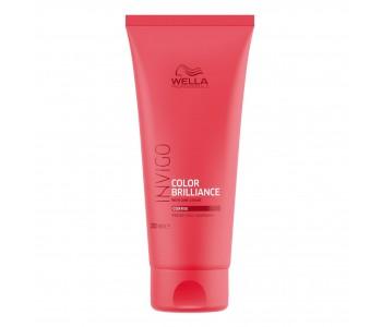 Бальзам-уход для защиты цвета окрашенных жестких волос, 200мл/Wella Invigo Color Brilliance