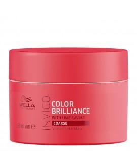 Маска-уход для защиты цвета окрашенных жестких волос, 150мл/Wella Invigo Color Brilliance