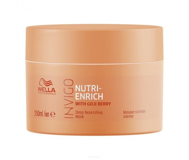 Питательная маска-уход, 150мл/Wella Invigo Nutri-Enrich
