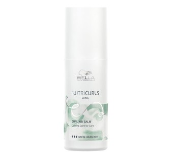 Несмываемый крем-бальзам, 150мл/Wella Nutricurls Curlixir Balm Defining Balm for Curls
