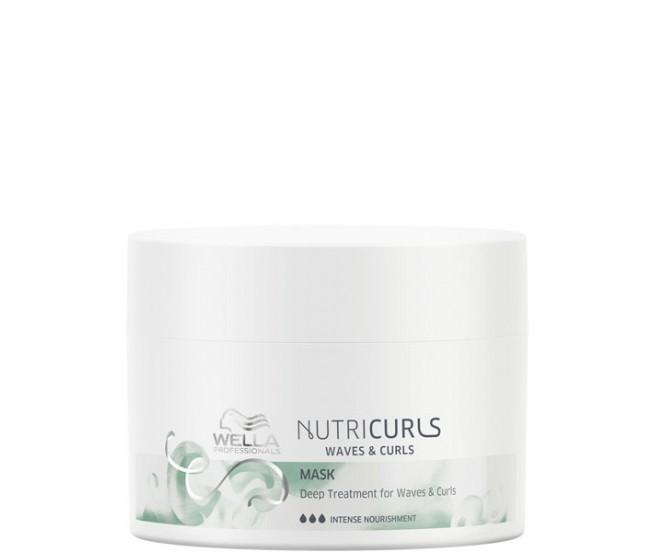 Питательная маска длявьющихся икудрявых волос, 150мл/Wella Nutricurls Deep Treatment for Waves & Curls