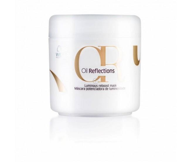 Маска для интенсивного блеска волос, 150мл/Wella Oil Reflections Luminous Reboost Mask