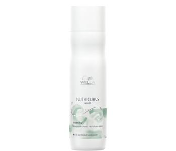 Бессульфатный шампунь для вьющихся волос, 250мл/Wella Nutricurls Shampoo for Waves - No Sulfates Added