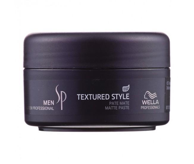 Паста для укладки с матовым эффектом, 75мл/Wella SP Men Textured Style