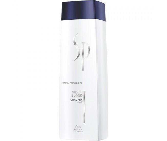 Шампунь для светлых оттенков волос, 250мл/Wella SP Expert Kit Silver Blond Shampoo